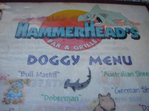Hammerheadsmenu